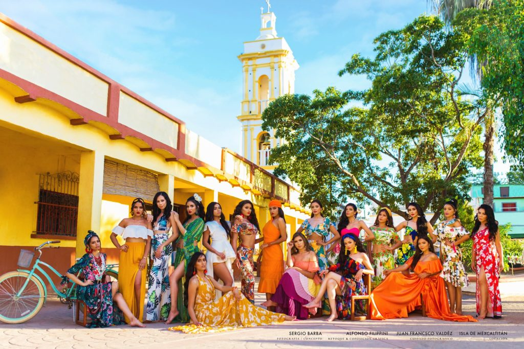 Fotos Candidatas Feria Nayarit 2020