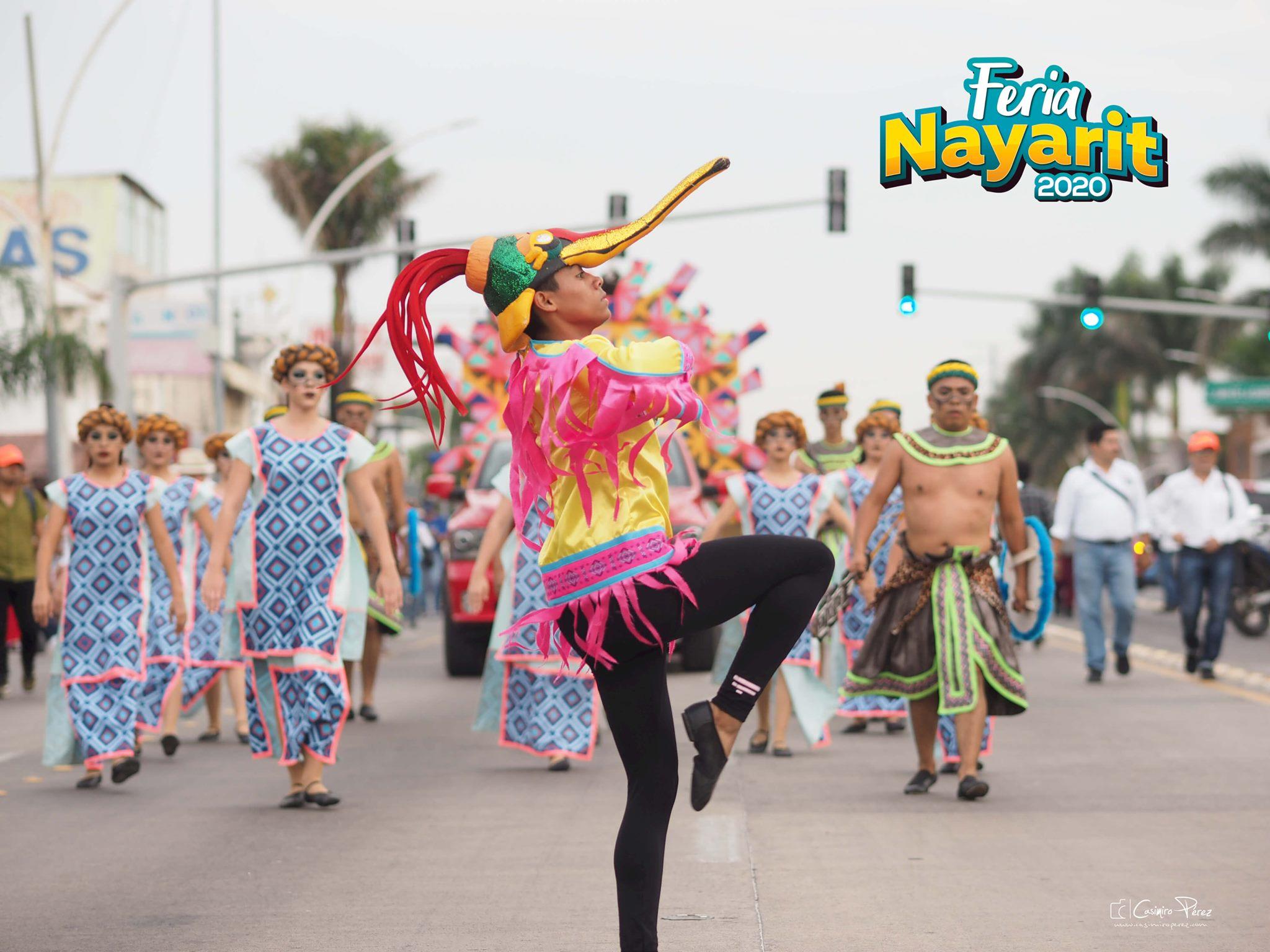 Desfile feria nayarit 2021